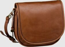 Fossil Crossbody Saddle Bag Rumi Small Brown Leather ZB7274216 New With Tag $158