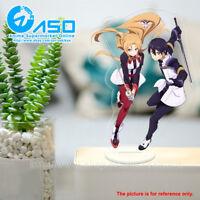 Sword Art Online Asuna Kirito Anime Acrylic Stand Figure display toy model Gift