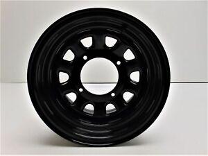 ITP Delta Steel Wheel 12x7 4+3 Offset 4/137 Bolt Pattern Black