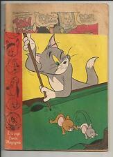 TOM AND JERRY VOL. 1 #115 POOR GOLDEN AGE COMIC 1954 DELL COMICS