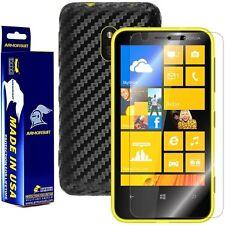 ArmorSuit MilitaryShield Nokia Lumia 620 Screen Protector + Black Carbon Skin