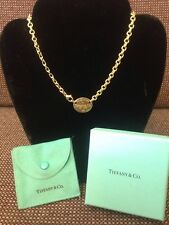 Make An Offer! Gorgeous Original 18 Karat Gold Tag Necklace Tiffany & Co.