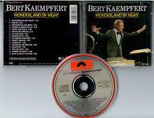 BERT KAEMPFERT - Wonderland by Night - CD Polydor 1985 - rar