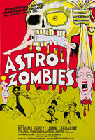 The Astro Zombies Wendell Corey Horror movie poster print