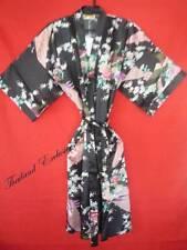 Ladies / Womens Silk Kimono, Dressing Gown, Robe. One size fits all Regular