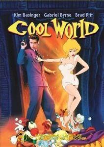 Cool World DVD Kim Basinger Brad Pitt Gabriel Byrne Brand New Australian Release