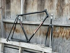 vintage Bianchi Premio Frame and Fork 57 cm (L) Black Excellent with Headset