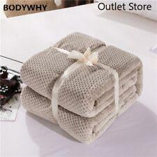 Japanese Mesh Blanket Sheet Bedspread Cushion Plaid Throw Flannel Blankets