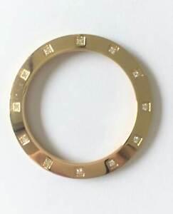 Original Pandora Lünette Bezel mit 12 Diamanten Imagine Grand/C Uhr - 872002 Neu