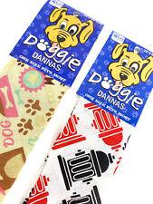 New listing Doggie Dannas Dog Bandana - Osfm Dogs - Paw Prints/ Fire Hydrant New