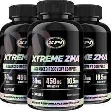 Xtreme ZMA (90 Caps) 3 Pack - Muscle Recovery, Post Workout & Testosterone Boost