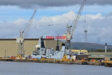 PHOTO  GLASGOW  A DARING CLASS DESTROYER UNDER CONSTRUCTION AT THE BAE SYSTEMS S
