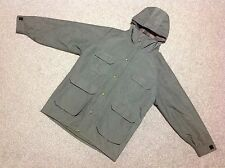 VINTAGE WOOLRICH PLAID WOOL LINED MOUNTAIN PARKA JACKET WITH HOOD SIZE LARGE