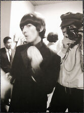 THE BEATLES POSTER PAGE . GEORGE HARRISON TOKYO JAPAN 1966 . G22