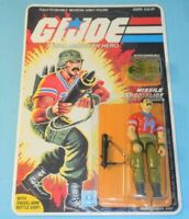 1985 GI Joe Bazooka v1 Figure Complete Sealed MOC *CUSTOM Full Card Back* *READ*