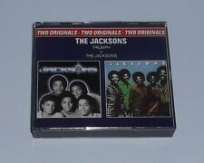 """THE JACKSONS  """" TRIUMPH  +  THE JACKSONS  """" 2 CD (Coffret) Can You Feel It ++"""
