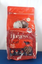 1.5KG BURGESS RAT ROYALE NUGGETS COMPLETE FOOD PET RODENT TASTY HEALTHY TREATS