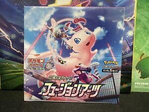 Pokemon Japanese s8 Fusion Arts Booster Box New Sealed