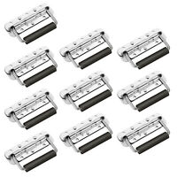 10X Spring Loaded Pull Handles Rubber Grip Rack Case PA Speakers Surface Mounted