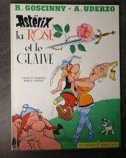 BD Astérix La rose et le glaive Goscinny Uderzo Albert rené 1991