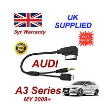 AUDI A3 SERIE cavo per Samsung Galaxy S2 S3 S4 S5 MICRO USB & AUX 3,5 mm Cavo