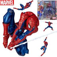Marvel #002 Spider-Man Figure Complex Yamaguchi Katsuhisa Revoltech Kaiyodo Toy