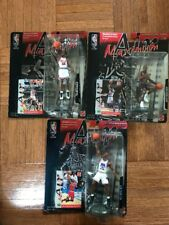 1999 MICHAEL JORDAN 3 SET NBA Maximum Air Figure & Card Upper Deck CHICAGO Bulls