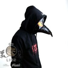 plague doctor masks Festival performances Halloween beak resin lenses PU mask