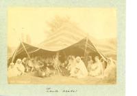 Algérie, bédouins Vintage Print,  Tirage albuminé  10x14  Circa 1870