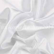 Satin Faux Silk Fabric DIY Clothing Curtain Gift Box Lining Color 100cmx150cm