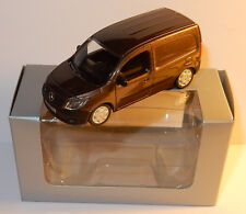 RARE NOREV 3 INCHES 1/54 MERCEDES-BENZ CITAN VOITURE DE SOCIETE VAN MARRON BOX