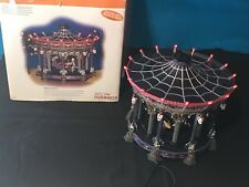 Dept 56 Ghostly Carousel Halloween Snow Village 55317 Sound Light