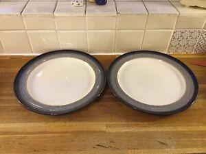 Denby - Heather - Dinner Plate x 2 - BRAND NEW - 2nd's.