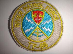 Vietnam Guerre Flash Rivière Patrol Force TF-56 Joint États-Unis Marine & Macv