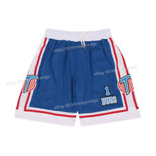 Space Jam #1 Bugs Basketball Shorts Tune Squad Front Sewn Beach Running Short
