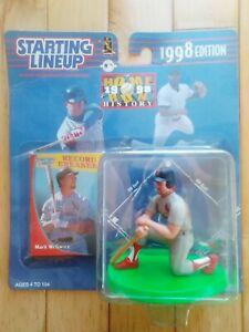1998 Mark McGwire SLU Starting Lineup Homerun Kings St. Louis Cardinals Baseball
