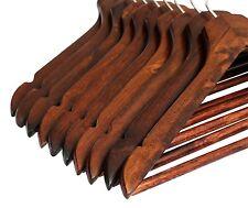 2 500 antique wooden hangers coat suit garment clothes wardrobe hanger trouser