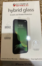 """Zagg Invisible Shield Hybrid Glass Screen Protector For iPhone 11 & XR 6.1"""" 2019"""