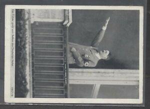 Hitler Saluting from German House PPC 11. V. 1938 Graz use to Yugoslavia