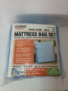 King Size Pillow Top Mattress Bag Set w/ built in Handles    Easy Luxury Line
