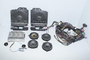 BMW F31 3er Hifi Système Sonorisation Haut-Parleur Amplificateur Kabelbaume