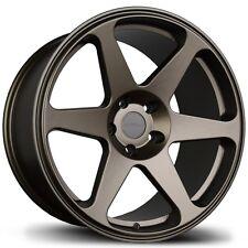 17X8 Avid.1 AV38 5x114.3 +35 Bronze Rims Fits Civic 240sx Rx8 Rx7