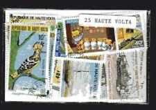 Haute Volta - Upper Volta 25 timbres différents