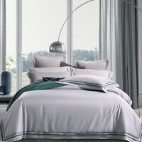 Luxury Egyptian Cotton Bedding Set  Silky Bedding Sets Bed Sheet Duvet Cover