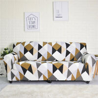 Forcheer Sofa Cover Printed Elastic Couch Slipcover for Living Room
