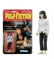 Funko Pulp Fiction ReAction Mia Wallace Action Figure New Sealed! See Pics!