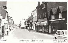 Kent Postcard - Sevenoaks - London Road - Real Photograph - Ref K90