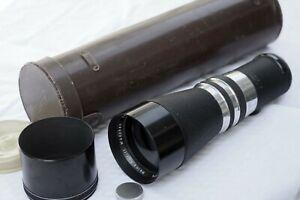 VINTAGE LEICA LEITZ VISOFLEX KILFITT 400MM F5.6 TELEPHOTO CAMERA LENS (EXC)