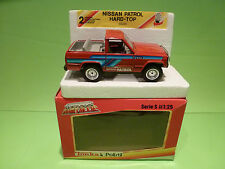 POLISTIL 02220 NISSAN PATROL - RED 1:25 - GOOD CONDITION IN BOX