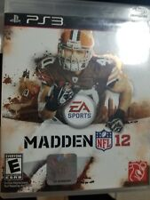 Madden NFL 12 - Sony PS3 (Complete)